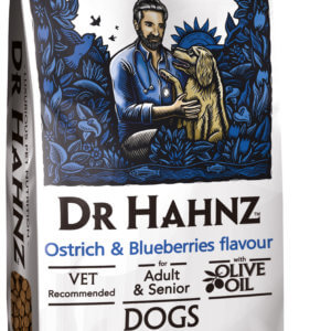ADULT AND SENIORS – OSTRICH & BLUEBERRIES | 6kg & 20kg
